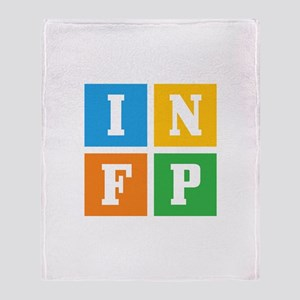 Myers-Briggs INFP Throw Blanket