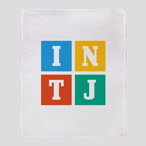 Myers-Briggs INTJ Throw Blanket
