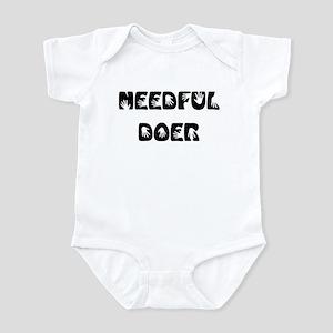 Needful Doer Infant Bodysuit