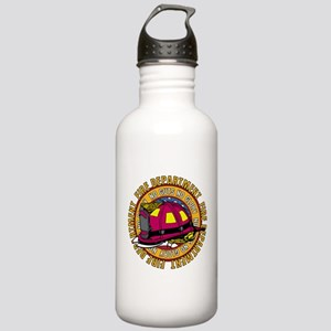 No Guts No Glory Firefighter Stainless Water Bottl