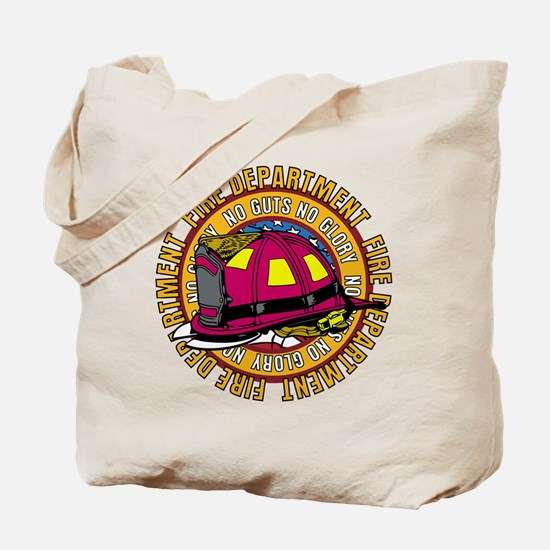 No Guts No Glory Firefighter Tote Bag