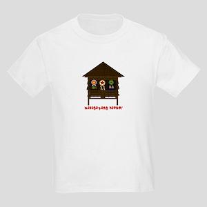 Bahay Kubo Xmas Kids Light T-Shirt
