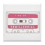 Unmillennial Tile Coaster