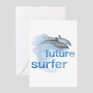 future surfer Greeting Card