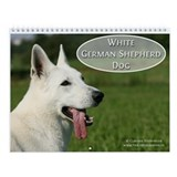 Dog german shepherd Wall Calendars
