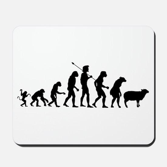Evolution of Sheeple Mousepad