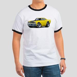 1970 Roadrunner Yellow-Black Car Ringer T