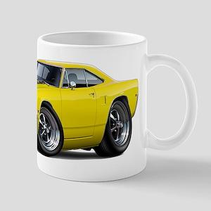 1970 Roadrunner Yellow-Black Car Mug