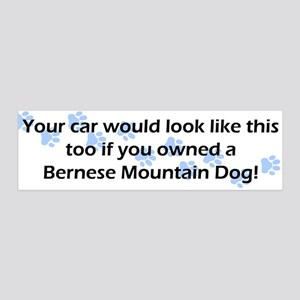 Your Car Bernese Mountain Dog 36x11 Wall Peel
