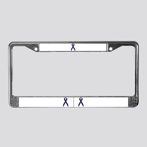 Support Law Enforcement Ribbon License Plate Frame