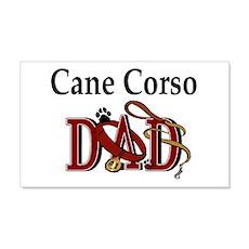 Cane Corso Dad 20x12 Wall Peel
