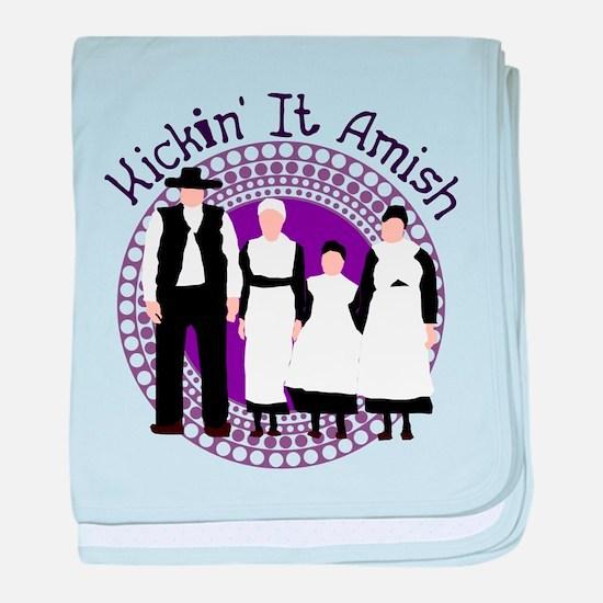 Riyah-Li Designs Kickin' It Amish baby blanket