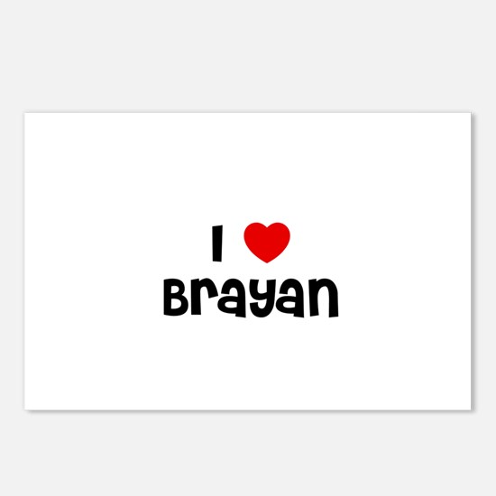 I * Brayan Postcards (Package of 8)