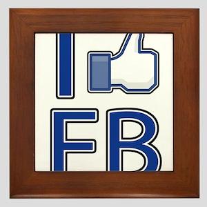 Like facebook Framed Tile