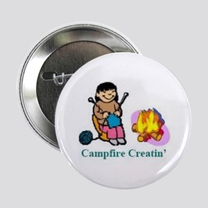 "Campfire Creatin' 2.25"" Button"