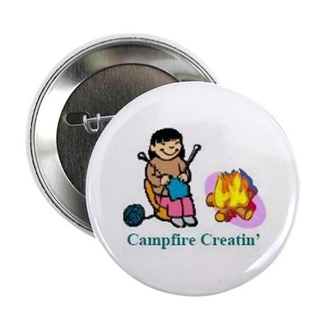 """Campfire Creatin' 2.25"""" Button"""