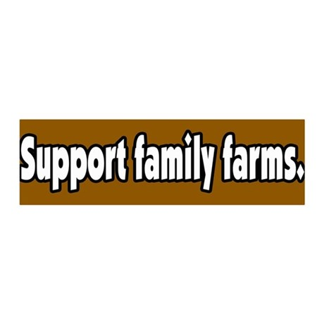 Support Family Farms 36x11 Wall Peel