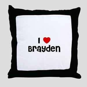 I * Brayden Throw Pillow