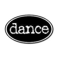 Dance 20x12 Oval Wall Peel