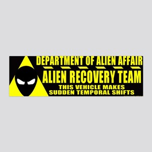 Department of Alien Affairs 36x11 Wall Peel