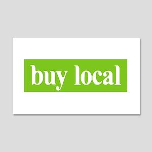 Buy Local 20x12 Wall Peel
