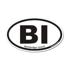 Bainbridge Island BI Euro 20x12 Oval Wall Peel