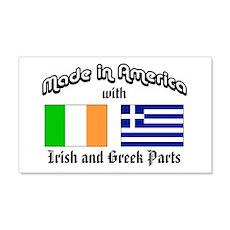 Irish-Greek 20x12 Wall Peel