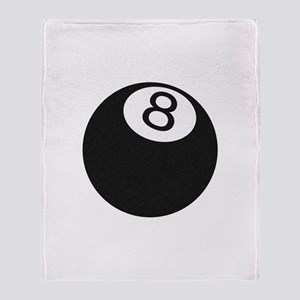 Riyah-Li Designs 8 Ball Throw Blanket