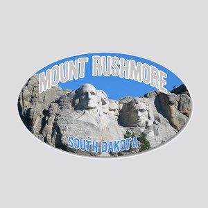 Mount Rushmore National Monument 20x12 Oval Wall P