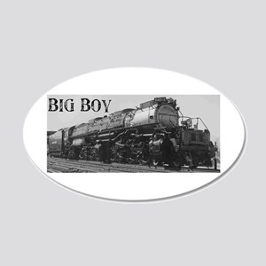 Big Boy 20x12 Oval Wall Peel