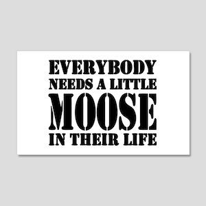 Get a Little Moose 20x12 Wall Peel