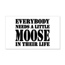 Get a Little Moose 20x12 Wall Peel