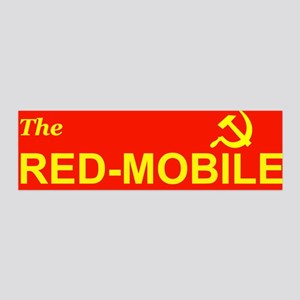 The Red-Mobile 36x11 Wall Peel