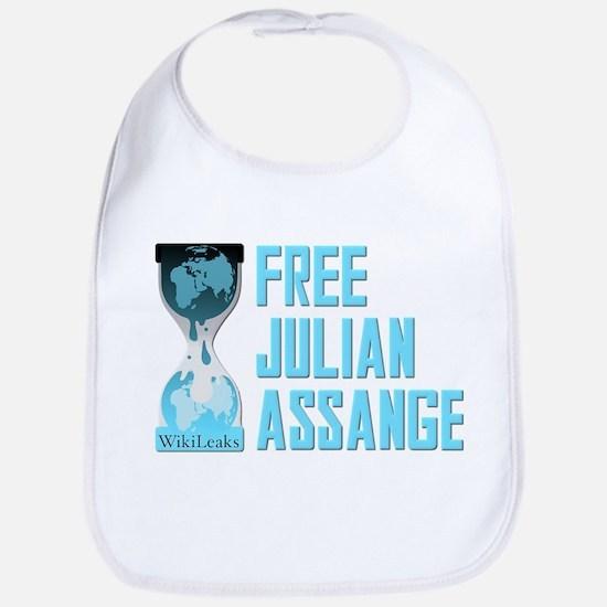 Free Julian Assange Wikileaks Bib