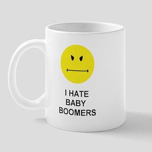 I Hate Baby Boomers Mug