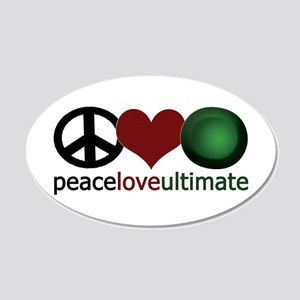 Ultimate Love - 20x12 Oval Wall Peel