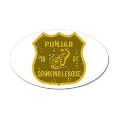 Punjab Drinking League 20x12 Oval Wall Peel