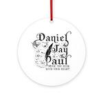 Daniel Jay Paul Ornament (Round)