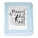 Daniel Jay Paul baby blanket
