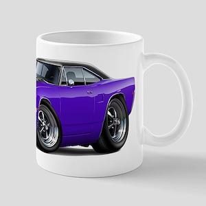 1970 Roadrunner Purple-Black Car Mug