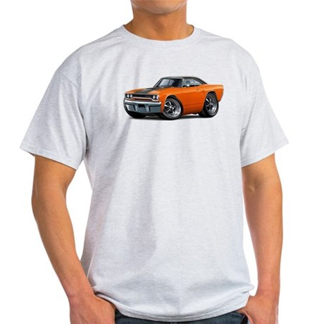 1970 Roadrunner Orange-Black Car Light T-Shirt