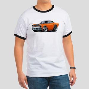 1970 Roadrunner Orange-Black Car Ringer T