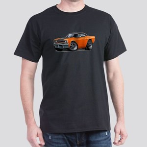 1970 Roadrunner Orange-Black Car Dark T-Shirt