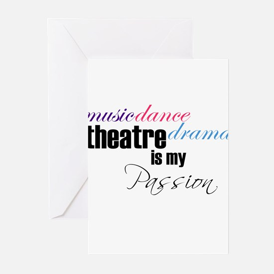 Unique Acting Greeting Cards (Pk of 20)