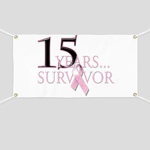 15 Year Breast Cancer Survivo Banner