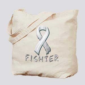 Lung Cancer Fighter Tote Bag