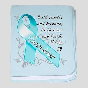 Prostate Cancer Survivor baby blanket