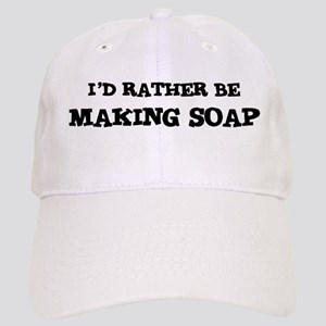 Rather be Making Soap Cap