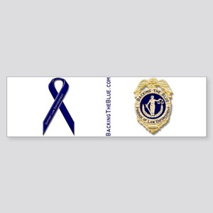 Badge and support ribbon Sticker (Bumper)
