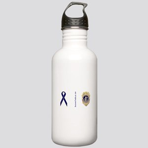 Badge and support ribbon Stainless Water Bottle 1.